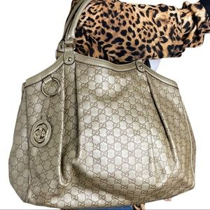 Extra Large Gucci tote bag